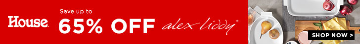 Save Up To 65% Off Alex Liddy - House Online