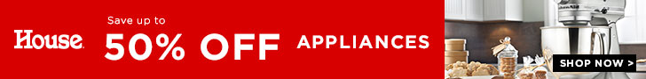 Save Up To 50% Off Appliances - House Online