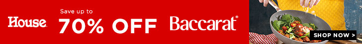 Save Up To 70% Off Baccarat - House Online