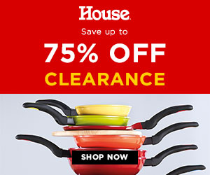 Save Up To 75% Off Clearance - House Online