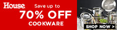 Save Up To 70% Off Cookware - House Online