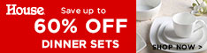 Save Up To 60% Off Dinner Sets - House Online
