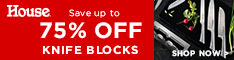 Save Up To 75% Off Knife Blocks - House Online