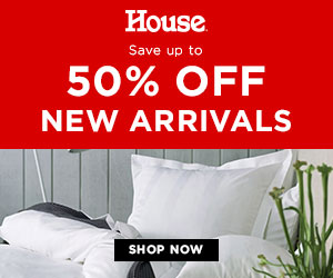 Save Up To 50% Off New Arrivals - House Online