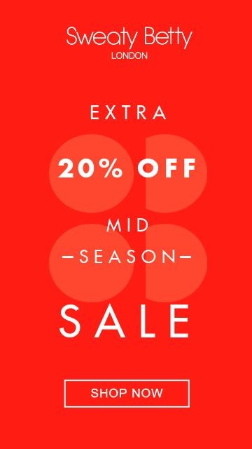 Sweaty Betty Mid-Season Sale