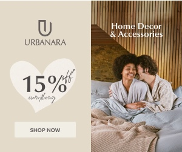 20% off Riviera Trend pieces at URBANARA