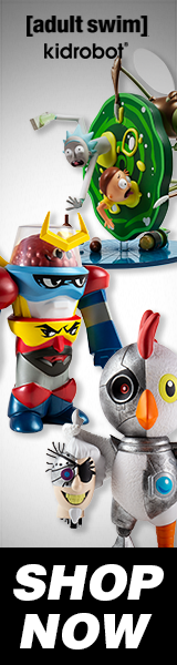 NEW Adult Swim x Kidrobot Art Toys & Mini Figures