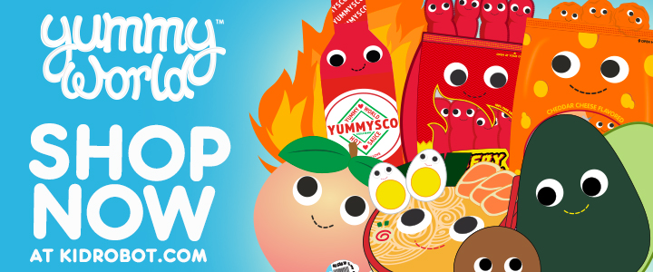 Yummy World Plush Toys by Kidrobot - Free Shipping on USA Orders of $50+ at Kidrobot.com
