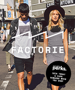 Factorie Perks Program - Join today and earn rewards when you shop
