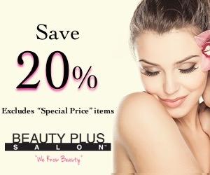 节省20%美容美发产品美容美发沙龙
