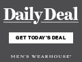 Men's Wearhouse - Daily Deal