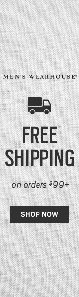 Men's Wearhouse - Free Shipping