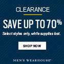 Men's Wearhouse - Clearance