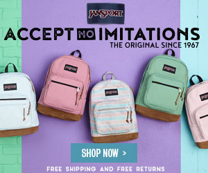 JanSport - Accept no Imitations. The Original Backpack since 1967.