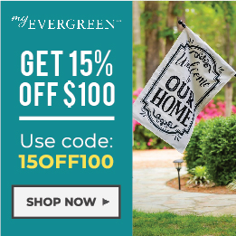 MyEvergreen Coupon - Save 15% Off $100