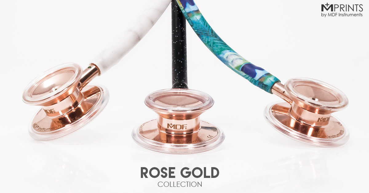 Shop Stethoscopes - Rose Gold