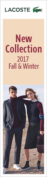 ラコステ New Collection 2017 Fall & Winter