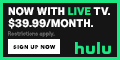 Hulu 2018 $5.99 Hulu with Limited Commercial Promotion
