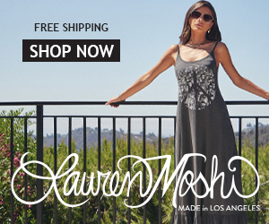 Get Free Shipping on all purchases at LaurenMoshi.com
