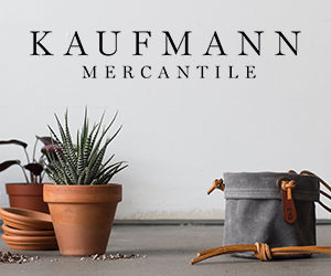 Kaufmann Mercantile started with a simple idea: The things we buy should last a lifetime. We're committed to finding well-crafted objects for thoughtful living and sharing them with you.