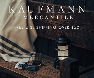 Kaufmann Mercantile started with a simple idea: The things we buy should last a lifetime. We're committed to finding well-crafted objects for thoughtful living and sharing them with you. Free Shipping offered on orders $50 or more.