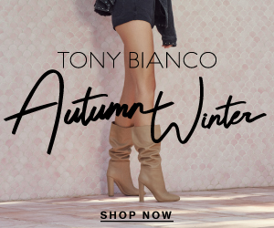 New season Cruise Collection now available at Tony Bianco // Shop Now
