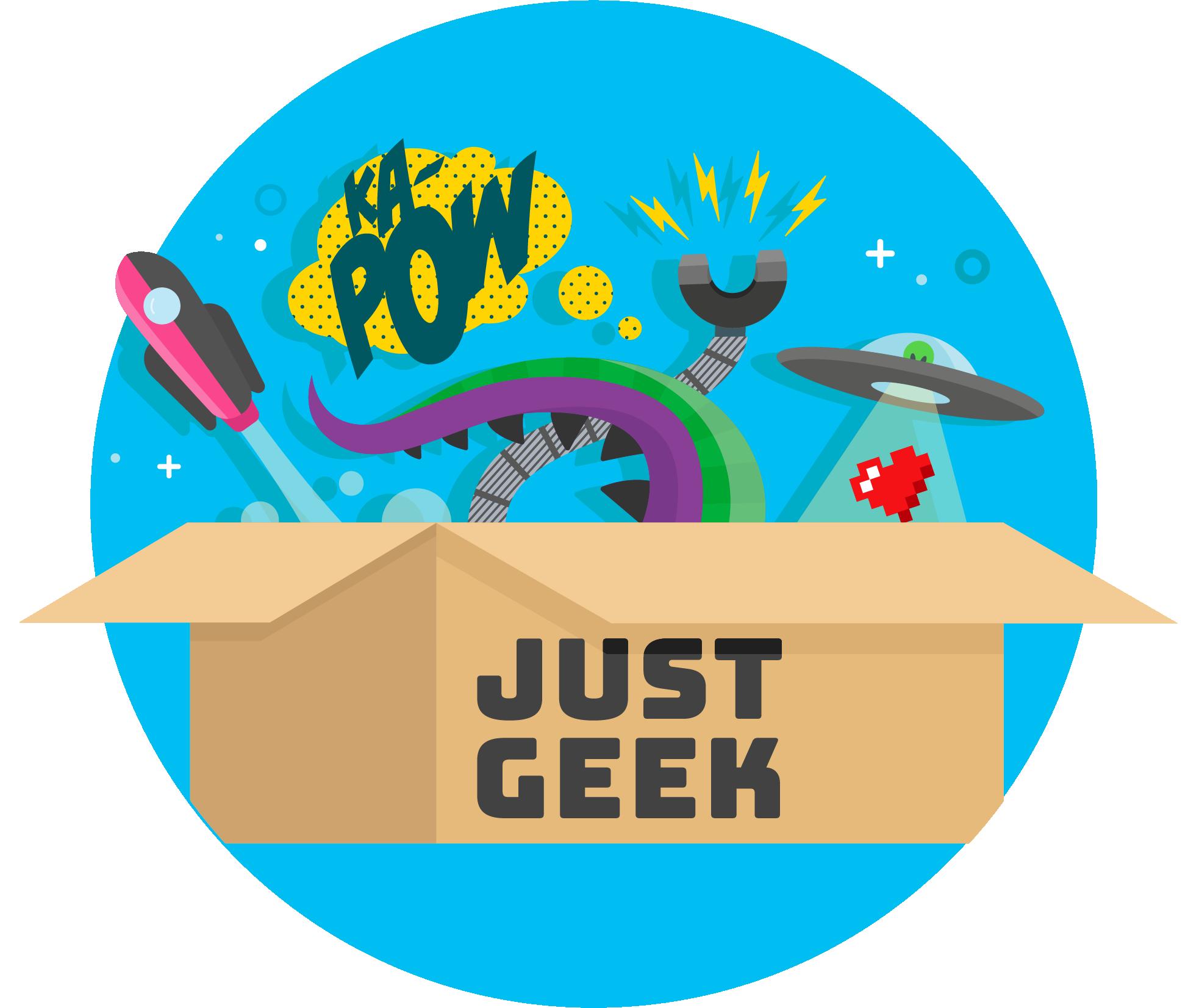 Just Geek Alt Logo
