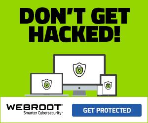 Webroot GB Consumer Banner