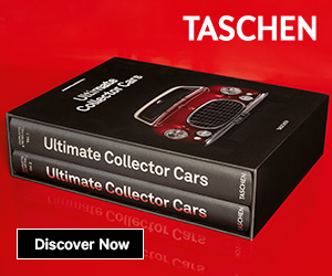 TASCHEN - Ultimate Collector Cars - 300 x250px - English Version