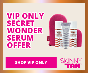 Skinny Tan VIP ONLY Wonder Serum Offer - up to 15% commission