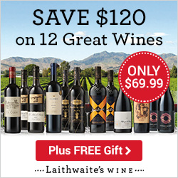 Save $120 on 12 World Class Wines for $69.99, plus FREE Corkscrew Set