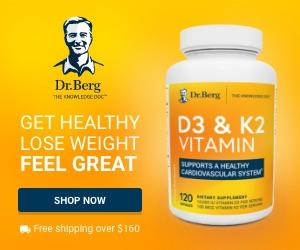 Dr. Berg D3 & K2 Vitamin