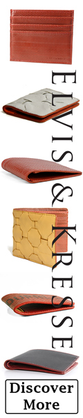 Elvis & Kresse Luxury Wallets