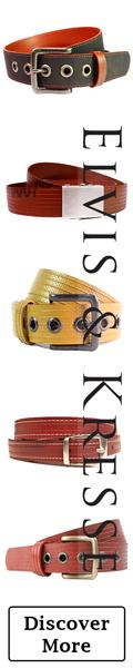 Elvis & Kresse Belts