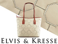Elvis & Kresse Fire & Hide Tote Bag in Grey
