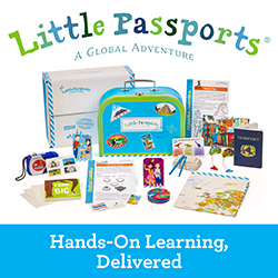 Little Passports early explorers is a g global adventure monthly box for preschoolers