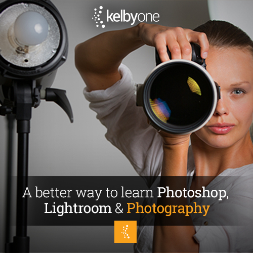 A better way to learn Photoshop, Lightroom, and Photography.