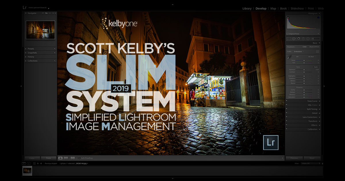 KelbyOne Course: Scott Kelby's 2019 SLIM System