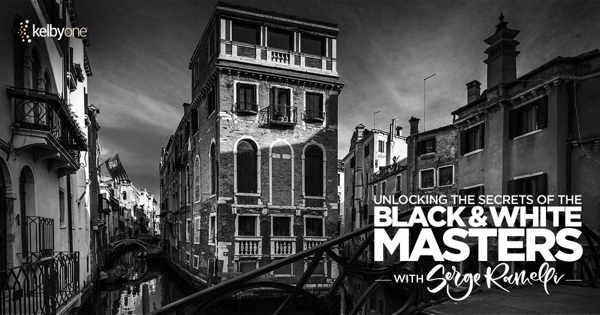 KelbyOne Course: Unlocking the Secrets of the Black and White Masters
