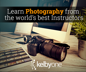 KelbyOne. Learn Photography from the World's Best Instructors.