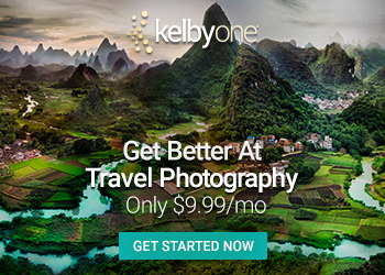 KelbyOne.Take better travel photography.