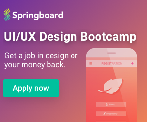 Learn both UI and UX. Land your dream design role.