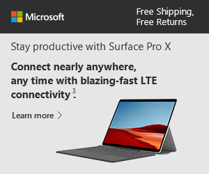 [New] Surface Pro X