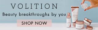 Volition Beauty|Free Shipping, Free Returns & Free Sampling