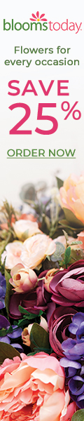 Blooms Today 25% Sitewide Savings