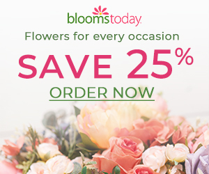 Blooms Today 25% Off