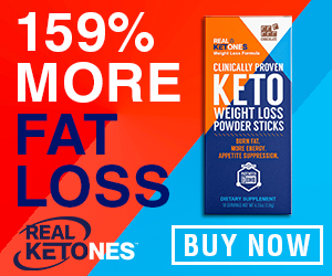 Keto Weight Loss Powder Banner Asset
