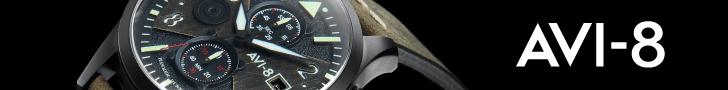 A Collection of WWII and Modern Military Aviation Inspired Timepieces.