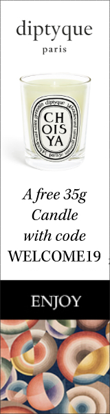 For Your First Purchase: Receive a 35g choisya candle with the code WELCOME19