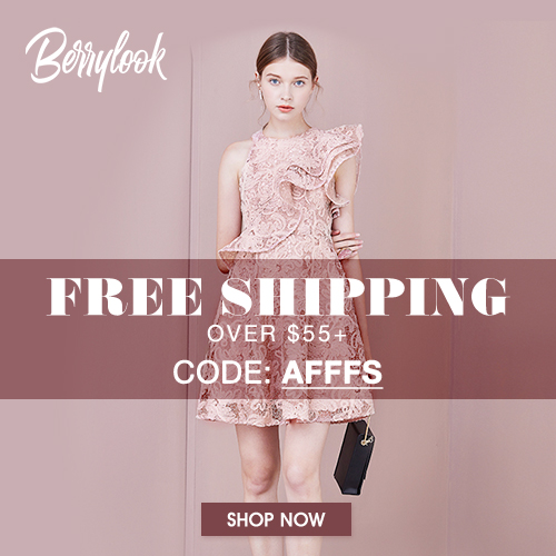 Free Shipping on All Orders Over $55 at BerryLook with Code: AFFFS